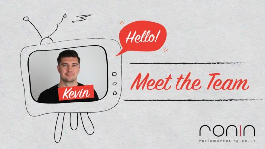 Kevin's Meet The Team photo