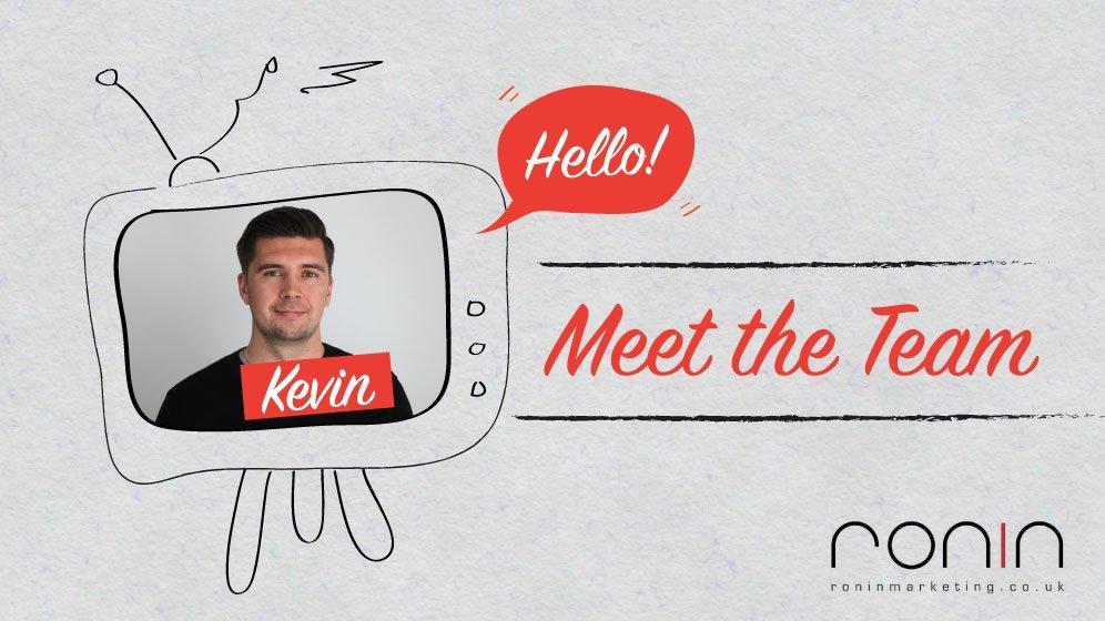 Kevin's Meet The Team photo