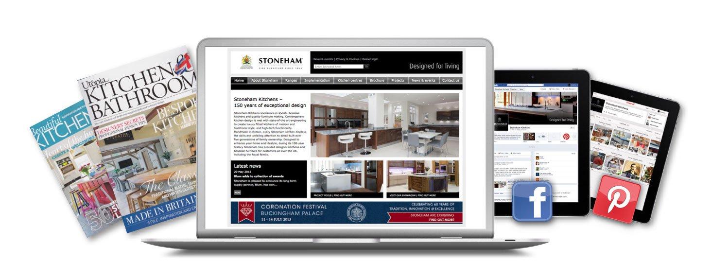 Stoneham Kitchens - Ronin Marketing