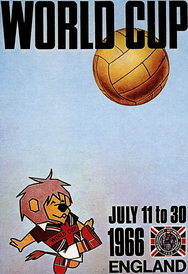 FIFA World Cup England poster 1966