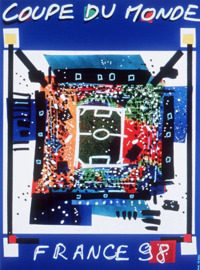 FIFA World Cup France 1998 poster