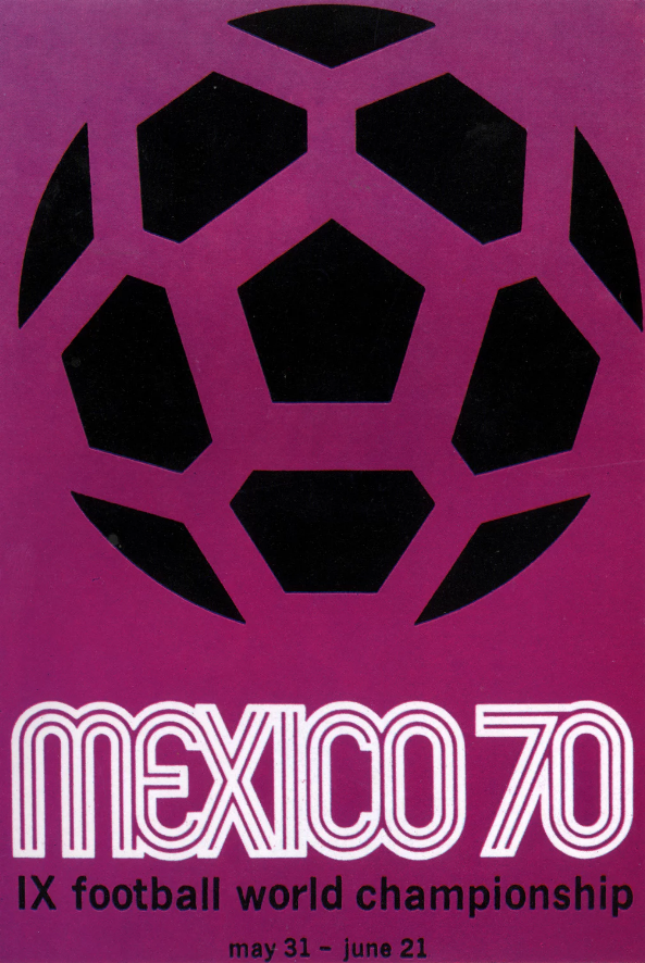 FIFA World Cup poster Mexico 1970