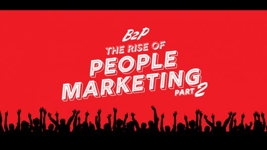 B2P Marketing blog graphic