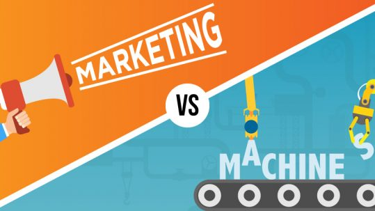 blog graphic which explains how artificial intelligence will affect marketing